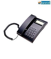 Beetel M51 CLI Corded Phone (Black)