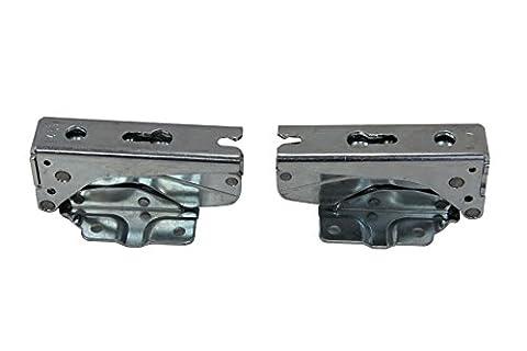 Paar Hettich 33625.0und Typ 33635.0integrierter Kühlschrank Gefrierschrank Tür Scharnier