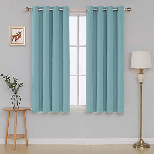 Deconovo Cortinas Dormitorio Moderno Blackout Curtain