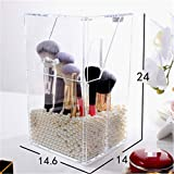 Designs Desktop Storage Box, Professional Waterproof Travel Cosmetic Compact Bags And Cases Gifts for Women Use, Beauty Transparent Bag,Clear