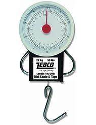 Zebco Peson à cadran Blanc 30 g