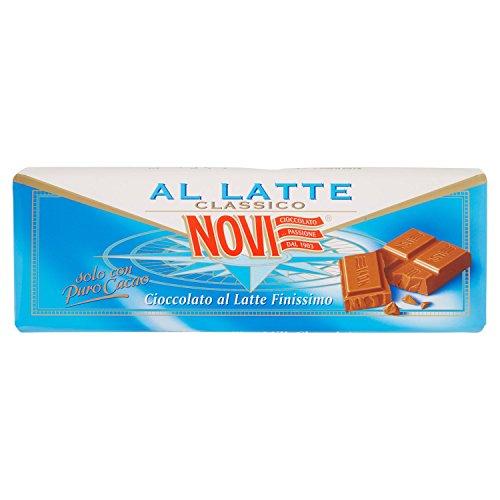 Novi - Cioccolato al Latte Finissimo - 4 tavolette da 200 g [800 g]