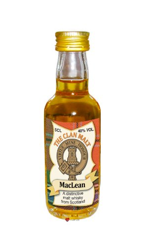 maclean-clan-whisky-collectable-miniature-bottle