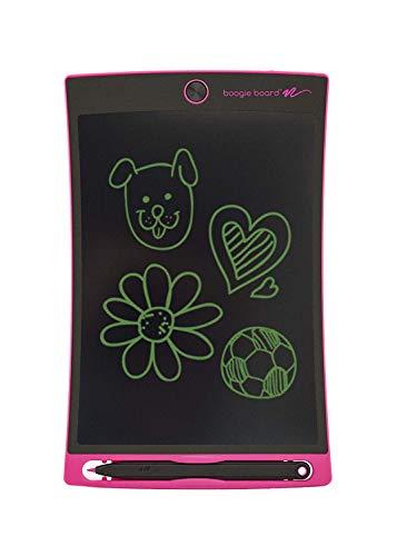 Boogie Board eWriter 8,5 Zoll LCD-Schreibtafel + Stylus Smart Paper zum Zeichnen und Notizen erstellen - Rosa (Lcd Boogie Board)