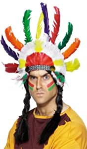 Smiffy's Indian Sitting Bull Headdress