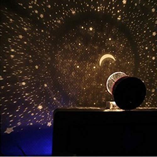 WEISY Proiettore a Stella Luce Notturna per Bambini, Bambini Cielo Stellato Lampada per proiettore per Feste da casa Ragazzi Ragazze Regali di Compleanno di Natale