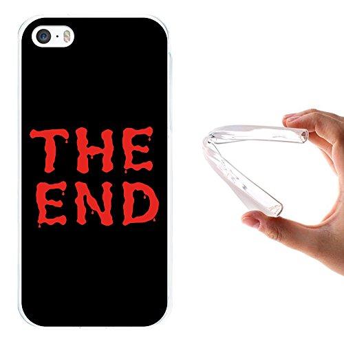 iPhone SE iPhone 5 5S Hülle, WoowCase Handyhülle Silikon für [ iPhone SE iPhone 5 5S ] Seefahrerstil- Leuchtturm Handytasche Handy Cover Case Schutzhülle Flexible TPU - Transparent Housse Gel iPhone SE iPhone 5 5S Transparent D0443