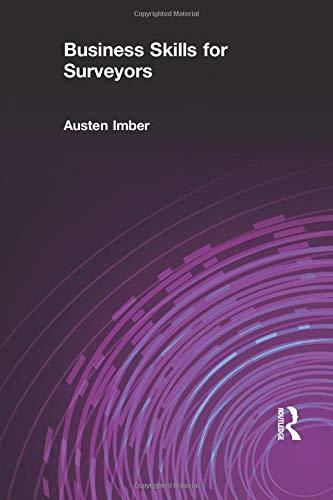 Business Skills for Surveyors PDF Books