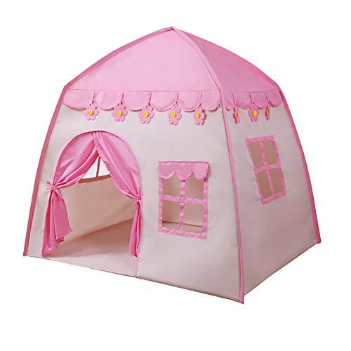 ZfgG Tente de Jeu pour Enfants Pink Toddler Play House Indoor Playhouse pour Enfants Clôture de Parc pour Enfants