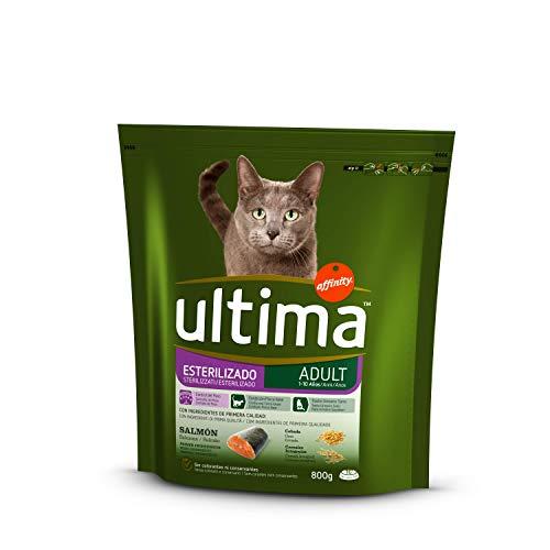 Ultima Cibo per Gatti Sterilizzati con Salmone - 800 g