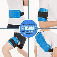 Schmerzlinderung Ice Pack mit Gurt für Hot & Cold Therapy, Mikrowelle heat Pad für Rücken Schulter, Hals, Taille... preisvergleich bei billige-tabletten.eu
