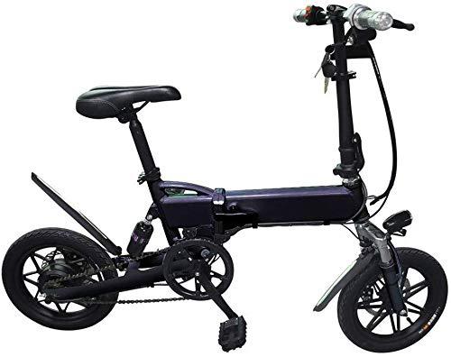 FEE-ZC Universal Erwachsene Folding Electric Bike Portable Fahrrad Geschwindigkeit bis zu 25 km/h EBike Pedal Assist mit Gas 36V 350W Motor