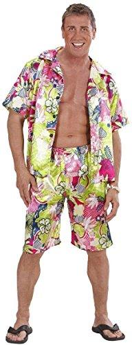 Widmann 2852H-Kostüm Herren Hawaii, in Größe XL (Mens Hawaiian Fancy Dress Kostüm)