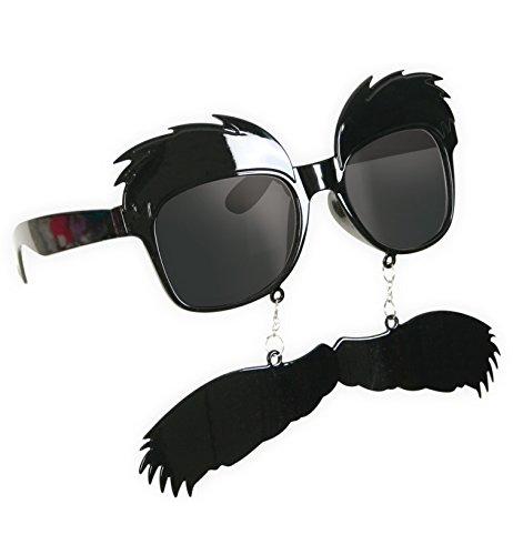 FASCHING 50353 Brille mit Bart Sonnenbrille NEU/OVP