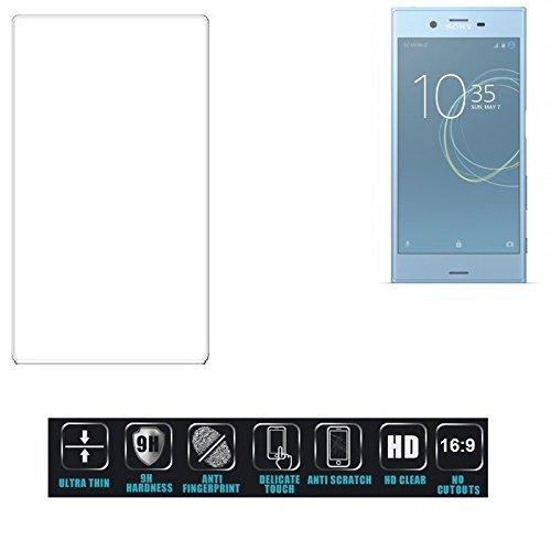 Für Sony Xperia XZs Dual SIM Schutzglas Glas Schutzfolie Glasfolie Bildschirmschutzfolie Bildschirmschutz Hartglas Tempered Glass Verb&glas für Sony Xperia XZs Dual SIM 16:9 Format, bedeckt nicht d