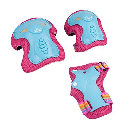 HUDORA Protektoren Kinder Skate Wonders, Protektoren-Set Inliner, Gr. S, 83317