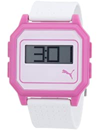 Puma Time Active Damen-Armbanduhr Flat Screen Digital Plastik A.PU910951006