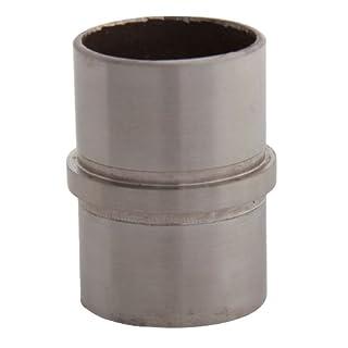 Edelstahl Rohrverbinder Fitting mit Mittelsteg für Rohr 42,4 x 2,0 m (S013590)