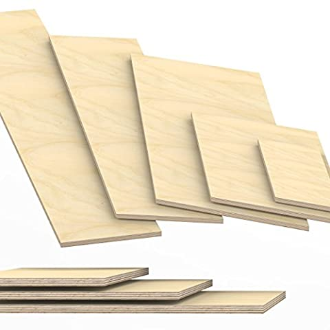 12mm Plywood Sheets cut to size up to 200 cm length multiplex board cuttings: 20x40 cm