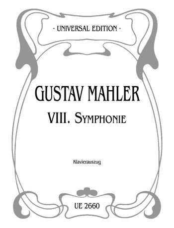 Sinfonie 8 Es-Dur. Klavierauszug
