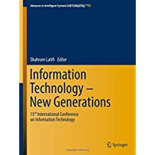 Information Technology- New Generations: 15th International Conference on Information Technology