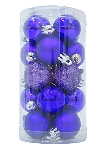 Christmas Concepts Lot de 20 30mm Violet Babioles (Violet)