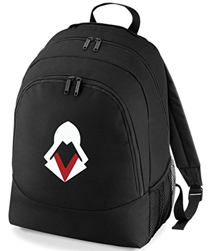 Taurus Embroidered Assassins Creed Abstract Helmet Gamers Rucksack Backpack PS4 Xbox