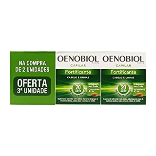 Oenobiol Fortifiying Hair And Nail Care 3x60caps