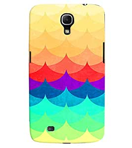 PRINTVISA Abstract Colourful Pattern Case Cover for Samsung Galaxy Mega 6.3 I9200