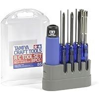 Tamiya 300074085 - Juego de herramientas para los coches controlados por radio, 8 piezas.