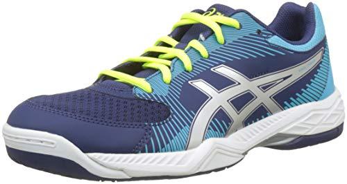 Asics Gel-Task, Zapatos de Voleibol para Mujer, Azul (Indigo Blue/Silver 400), 40.5 EU