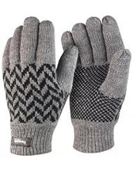 Tucuman Aventura - gants laine thinsulate côtes