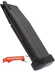 WE Airsoft CO2 Hi-Capa 5.1 Serie Pistol Cargador - AirsoftGoGo Llavero Incluido