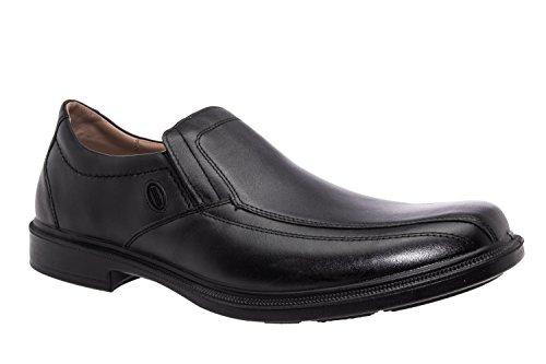 Andres Machado.22101.Chaussures habillées pour hommes en cuir Noir