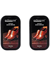 Shoeshine India shoe shiner neutral shoe shine sponge (pack of 2)