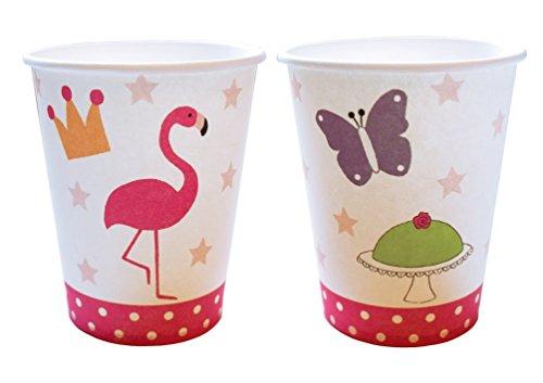 Preisvergleich Produktbild Party Becher Flamingo von JaBaDaBaDo