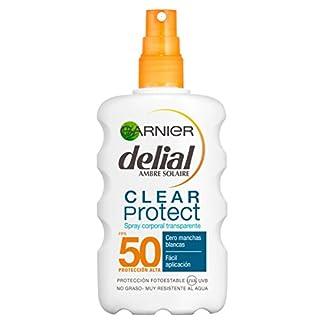 Garnier Delial Clear Protect Spray Protector Solar Transparente Corporal IP50+– 200 ml