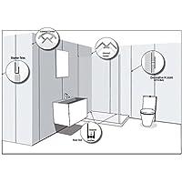 Aidapt - Widepanel PVC Internal Corner