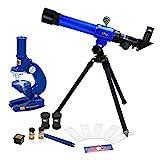 ColorBaby -  Set Telescopio y Microscopio Kidz Corner (44830)