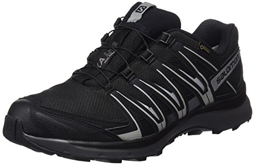 Salomon XA Lite GTX, Scarpe da Trail Running Impermeabili Uomo, Nero (Black/Quiet Shade/Monument), 42 EU