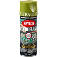 KRYLON Camouflage Paint with Fusion Technology (Woodland Light Green)