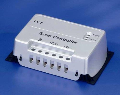 IVT Solar-Controller 12V, 24V 10 A Modul-/ Laststrom SC10 Ladegerät für Solarbatterien -