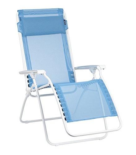 Lafuma Relax-Liegestuhl, klappbar und verstellbar, R-Clip, Blau, LFM4007-7661