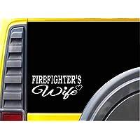 Firefighter Wife 8 Inch Sticker Fireman Decals