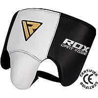 RDX Rindsleder MMA Tiefschutz Kampfsport Boxen Herren Suspensorium Unterleibschutz Karate Kickboxen (CE Bescheinigt Genehmigt Durch SATRA)