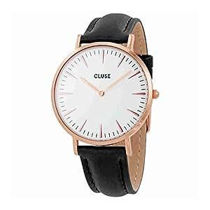 cluse damen armbanduhr analog quarz leder cl18008 cluse. Black Bedroom Furniture Sets. Home Design Ideas