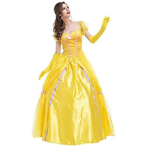 Imagen de disfraz de princesa para mujer cosplay vestido halloween carnaval talla s alternativa