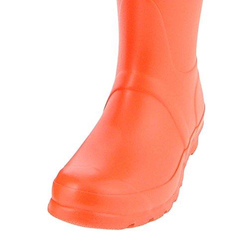 Hunter Original Tall, Bottes femme Orange