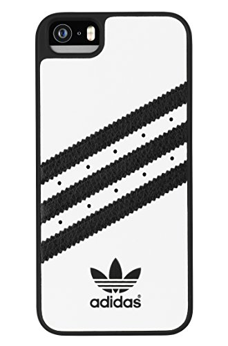 Adidas Coque Rigide pour iPhone 5s Blanc/ Noir