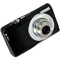 Stoga Digital Camera DC-V100 Mini Digital Compact Camera 5 x Optical Zoom 8 x Digital Zoom 2.7 inch TFT LCD HD Compact Digital Camera - Black